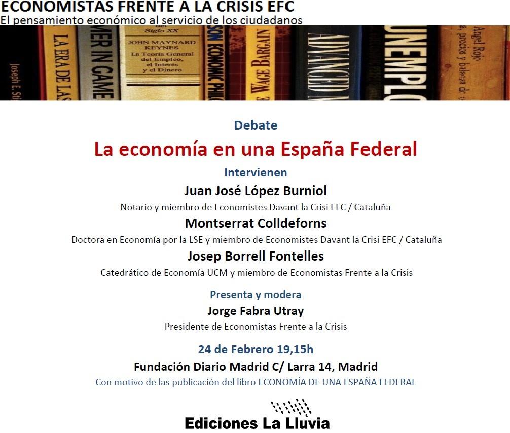 La Economía en Una España Federal