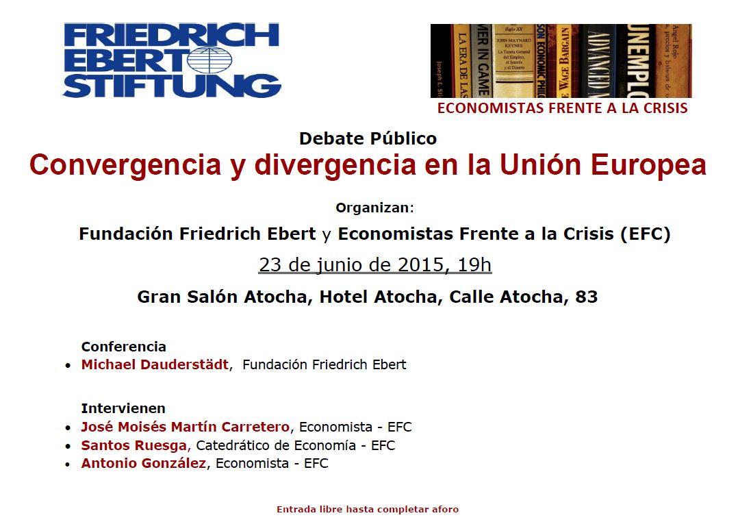 Debate público con la Fundación Friedrich Ebert