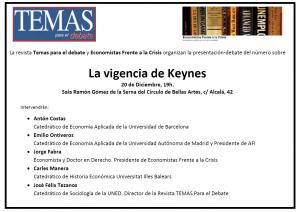 La vigenciua de Keynes